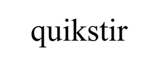 mark for QUIKSTIR, trademark #77190536