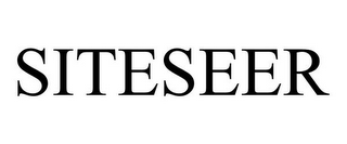 mark for SITESEER, trademark #77190791