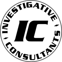 mark for IC INVESTIGATIVE CONSULTANTS, trademark #77191233