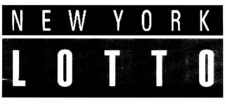 mark for NEW YORK LOTTO, trademark #77191962
