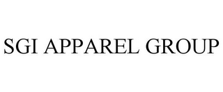 mark for SGI APPAREL GROUP, trademark #77192593