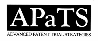 mark for APATS ADVANCED PATENT TRIAL STRATEGIES, trademark #77193956