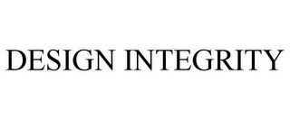 mark for DESIGN INTEGRITY, trademark #77194168
