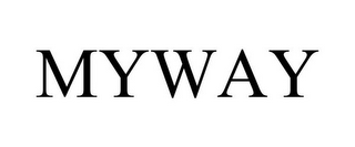mark for MYWAY, trademark #77194841