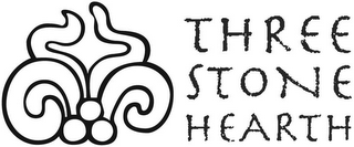 mark for THREE STONE HEARTH, trademark #77196720