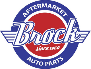 mark for BROCK SINCE 1960 AFTERMARKET AUTO PARTS, trademark #77197061