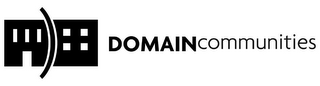mark for DOMAINCOMMUNITIES, trademark #77197710
