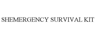 mark for SHEMERGENCY SURVIVAL KIT, trademark #77197763