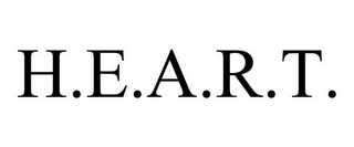 mark for H.E.A.R.T., trademark #77197898
