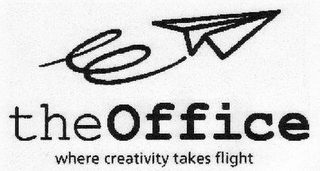 mark for THEOFFICE WHERE CREATIVITY TAKES FLIGHT, trademark #77197937