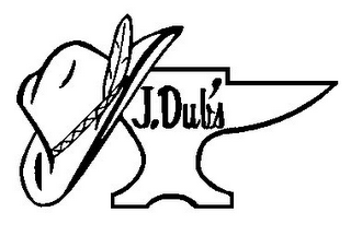 mark for J.DUB'S, trademark #77198429
