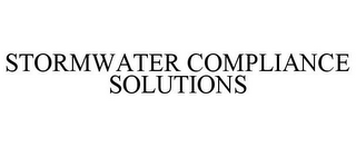 mark for STORMWATER COMPLIANCE SOLUTIONS, trademark #77198543