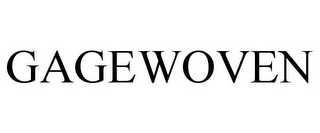 mark for GAGEWOVEN, trademark #77198739