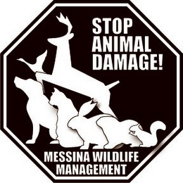 mark for STOP ANIMAL DAMAGE! MESSINA WILDLIFE MANAGEMENT, trademark #77198882