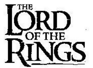 mark for THE LORD OF THE RINGS, trademark #77199068