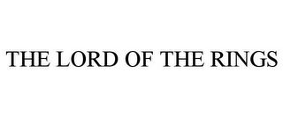 mark for THE LORD OF THE RINGS, trademark #77199226