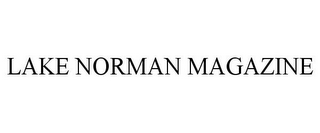 mark for LAKE NORMAN MAGAZINE, trademark #77199779