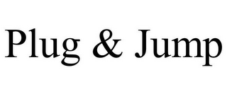 mark for PLUG & JUMP, trademark #77200385