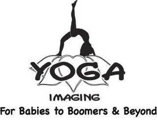 mark for YOGA IMAGING FOR BABIES TO BOOMERS & BEYOND, trademark #77200755