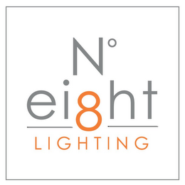 mark for NO EIGHT LIGHTING, trademark #77201511
