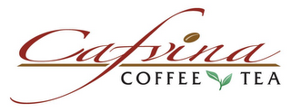 mark for CAFVINA COFFEE TEA, trademark #77204578