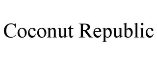 mark for COCONUT REPUBLIC, trademark #77204878