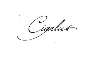 mark for CIGALUS, trademark #77205024