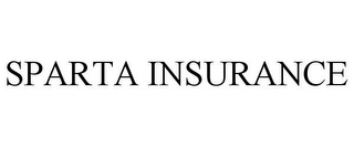 mark for SPARTA INSURANCE, trademark #77205055