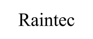 mark for RAINTEC, trademark #77205652