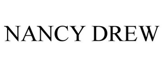 mark for NANCY DREW, trademark #77206246