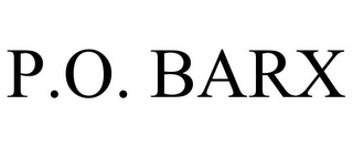 mark for P.O. BARX, trademark #77206657