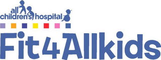 mark for ALL CHILDREN'S HOSPITAL FIT4ALLKIDS, trademark #77207072