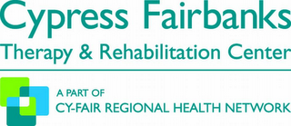mark for CYPRESS FAIRBANKS THERAPY & REHABILITATION CENTER A PART OF CY-FAIR REGIONAL HEALTH NETWORK, trademark #77207537