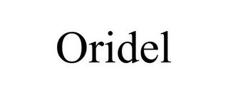 mark for ORIDEL, trademark #77208105