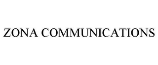 mark for ZONA COMMUNICATIONS, trademark #77208314