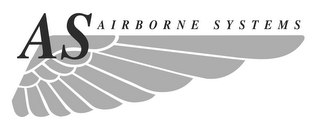 mark for AS AIRBORNE SYSTEMS, trademark #77208437