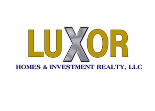 mark for LUXOR HOMES & INVESTMENT REALTY, LLC, trademark #77209111