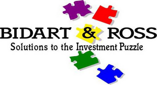 mark for BIDART & ROSS SOLUTIONS TO THE INVESTMENT PUZZLE, trademark #77209481