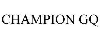 mark for CHAMPION GQ, trademark #77210668