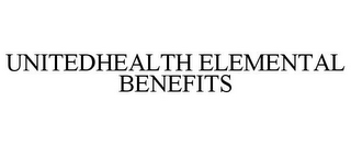 mark for UNITEDHEALTH ELEMENTAL BENEFITS, trademark #77211175