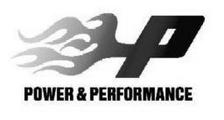 mark for P POWER & PERFORMANCE, trademark #77211943