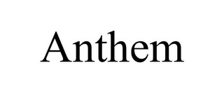 mark for ANTHEM, trademark #77213256