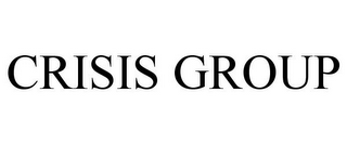 mark for CRISIS GROUP, trademark #77213324