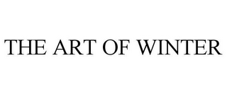 mark for THE ART OF WINTER, trademark #77213913