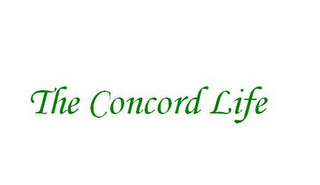 mark for THE CONCORD LIFE, trademark #77214503