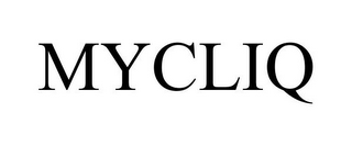 mark for MYCLIQ, trademark #77215056