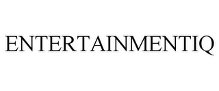mark for ENTERTAINMENTIQ, trademark #77215254