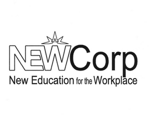 mark for NEWCORP NEW EDUCATION FOR THE WORKPLACE, trademark #77216160