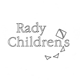 mark for RADY CHILDRENS, trademark #77219712