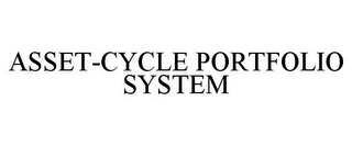 mark for ASSET-CYCLE PORTFOLIO SYSTEM, trademark #77220737